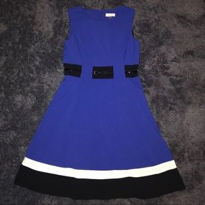 Calvin Klein sleeve less dress size 8